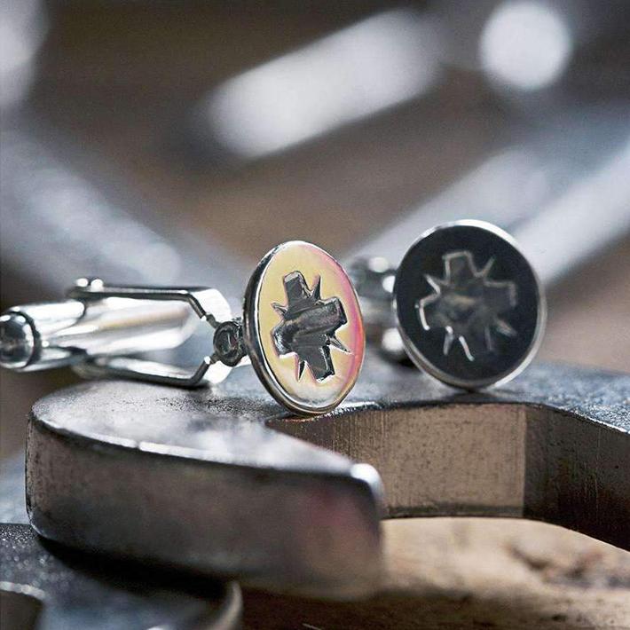 bullet back cufflinks