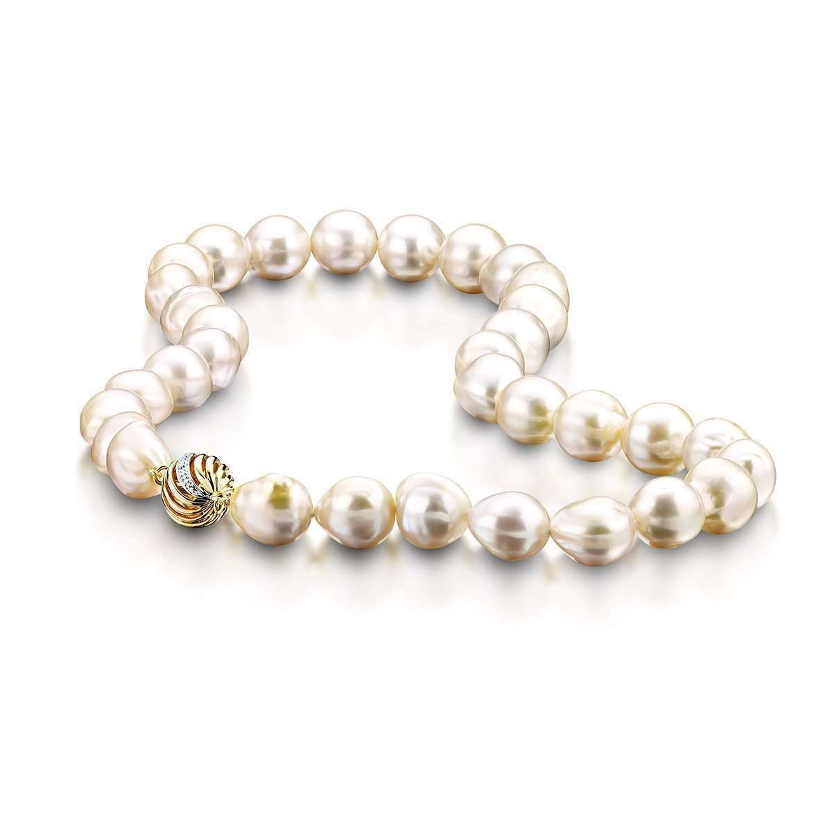 pearl necklaces, south sea pearls